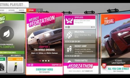 Forza Horizon 4 #Forzathon February 6-13