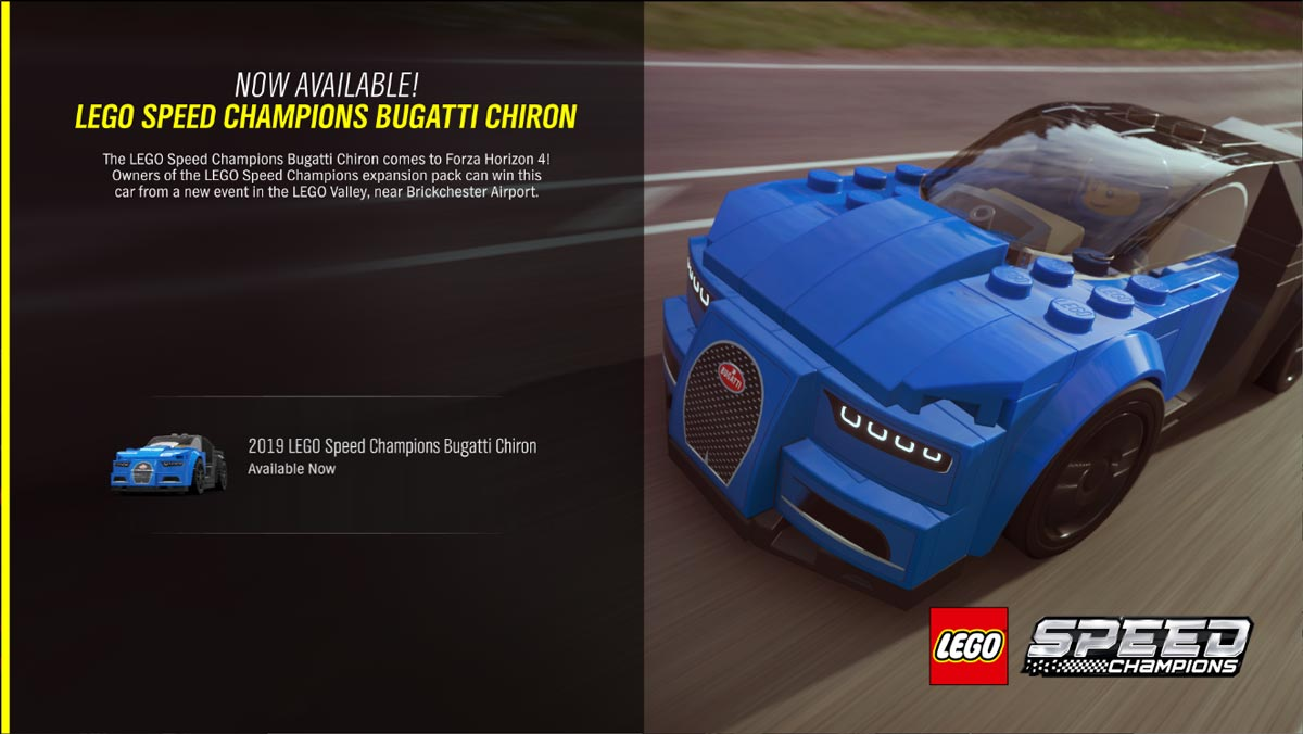 The LEGO Speed Champions Bugatti Chiron