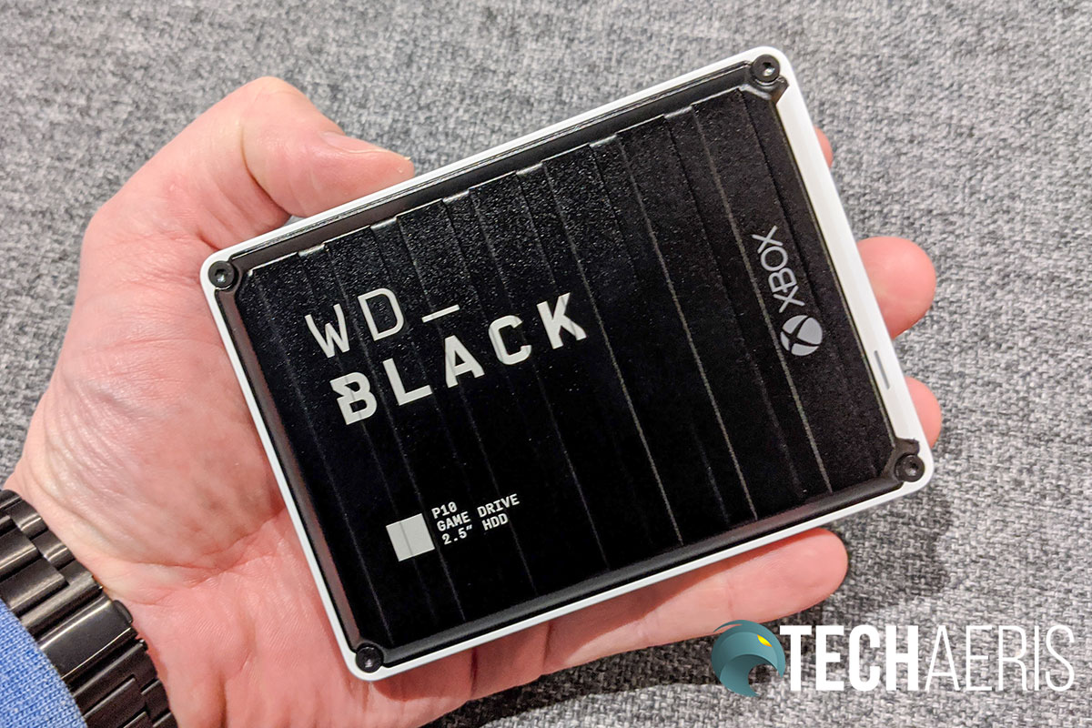 The WD_Black P10 Game Drive for Xbox