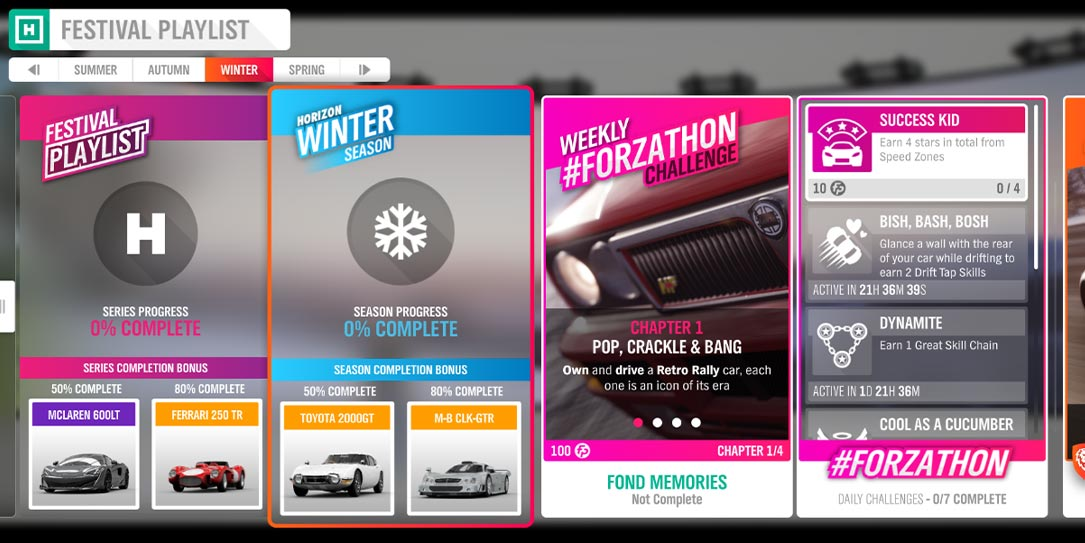 Forza Horizon 4 #Forzathon March 26-April 2