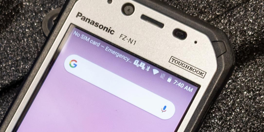 The Panasonic Toughbook N1 smartphone