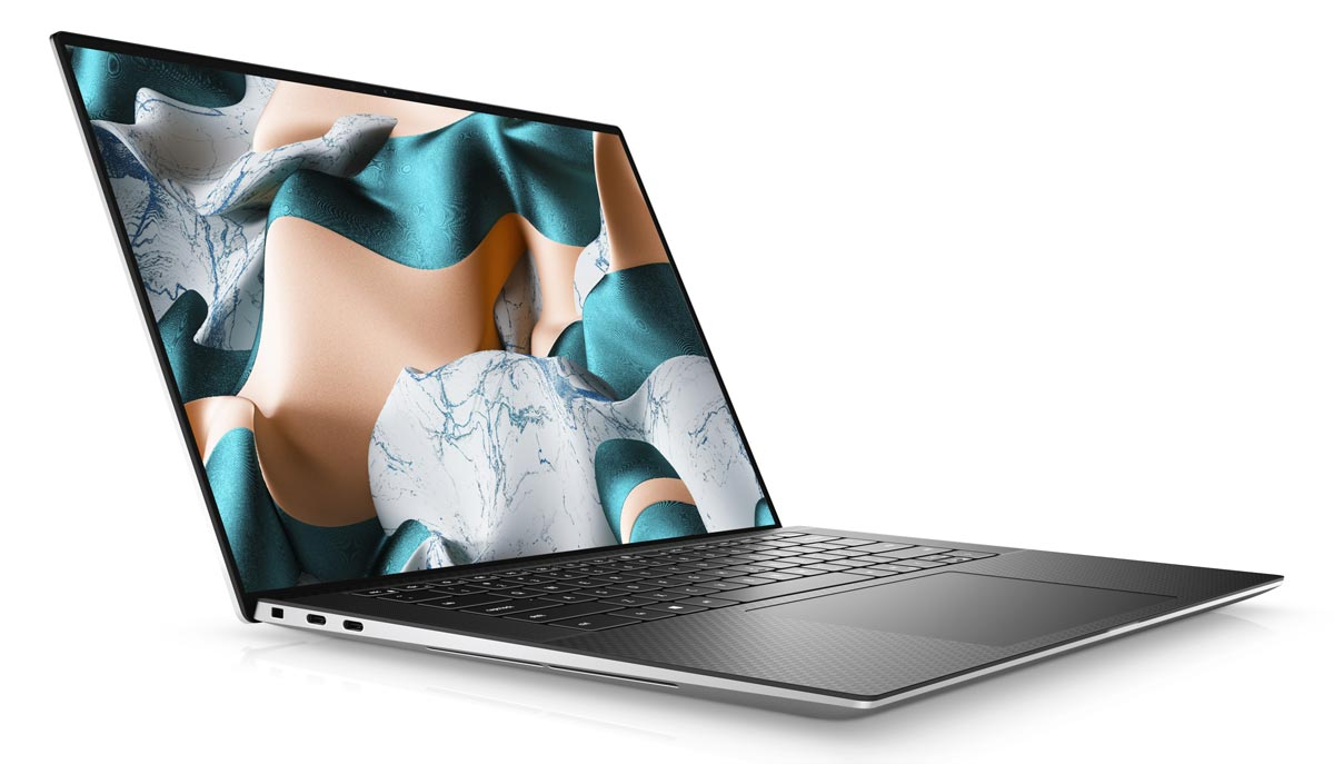 The 2020 Dell XPS 15 laptop