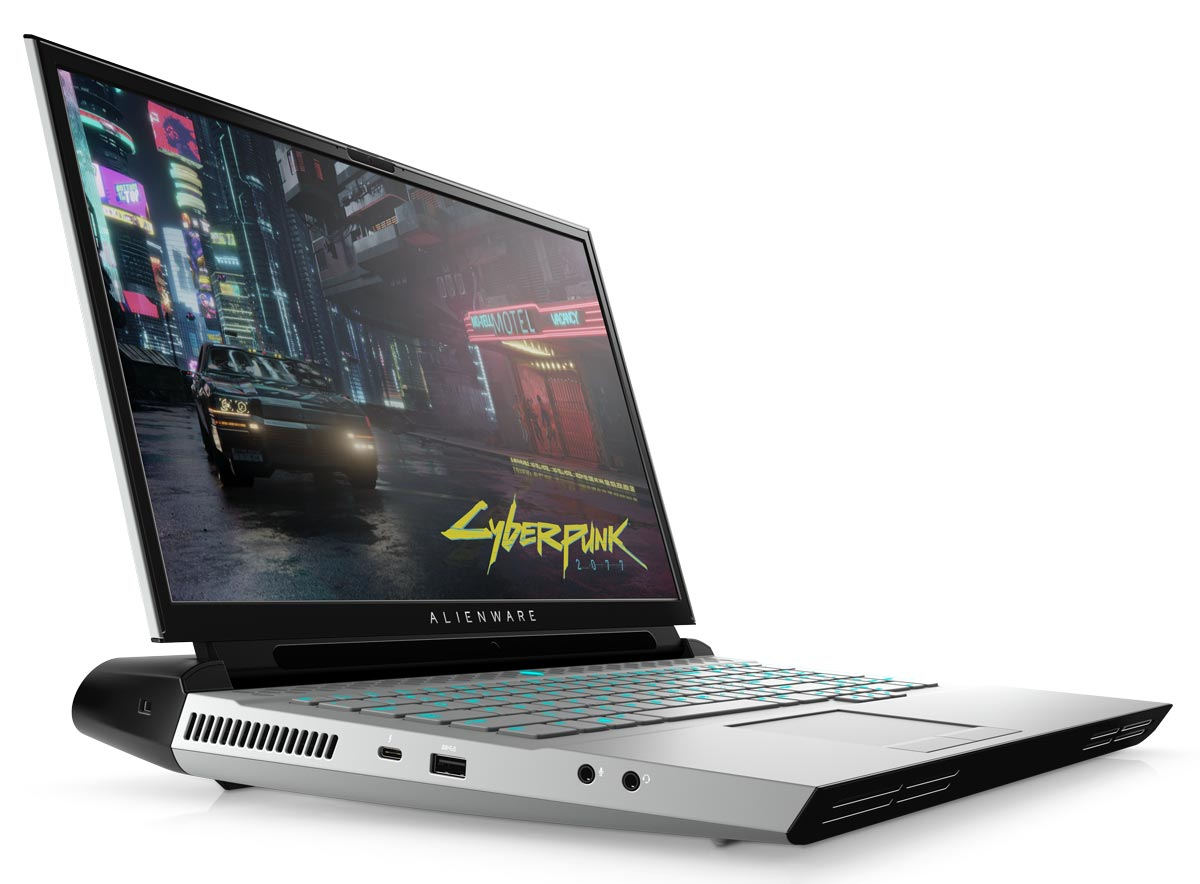 The Alienware Area-51m R2 gaming laptop