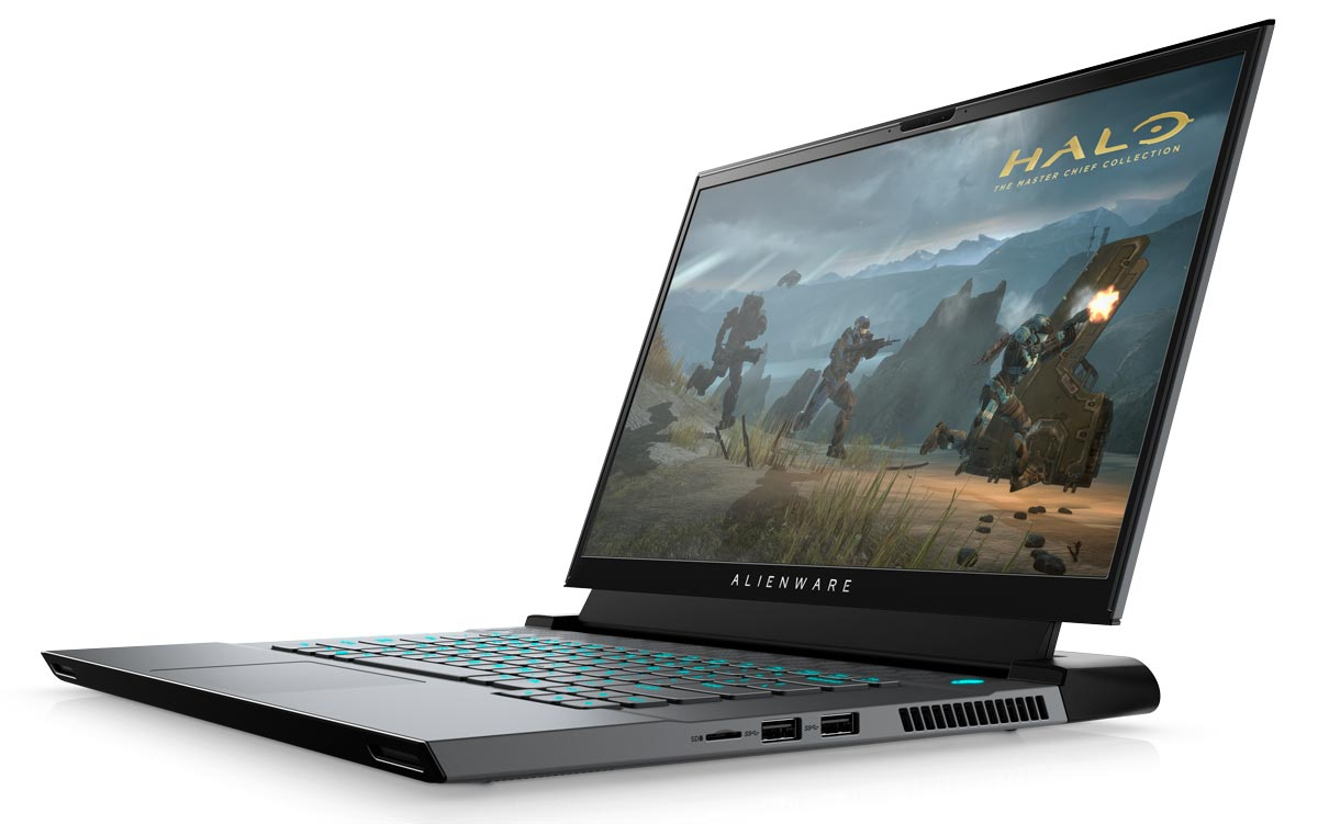 The Alienware m15 R3 gaming laptop