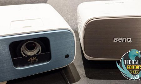 BenQ TK850 and BenQ HT3550 4K UHD projectors