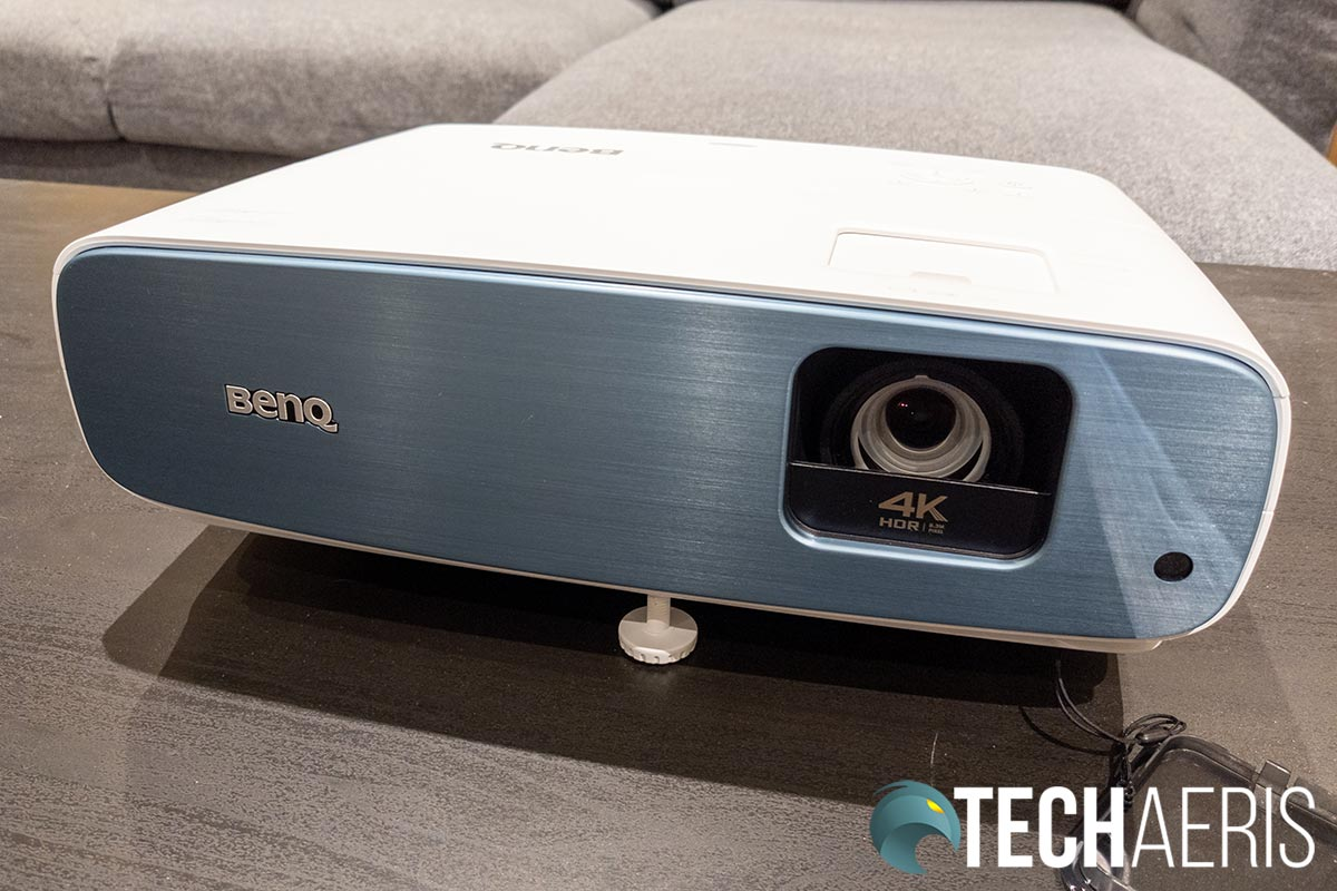 The front of the BenQ TK850 Sports Projector