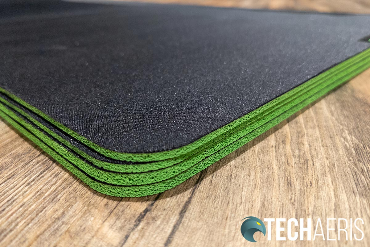 The Razer Gigantus V2 mouse mats come in two thicknesses, depending on size