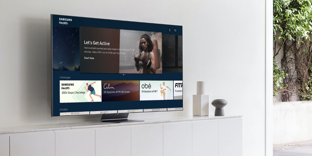 Samsung Health Smart TVs