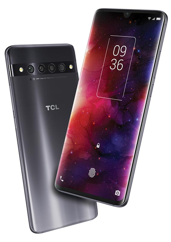 The TCL 10 Pro Android smartphone