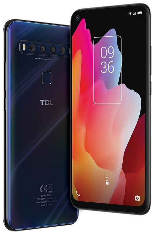 The TCL 10L Android smartphone
