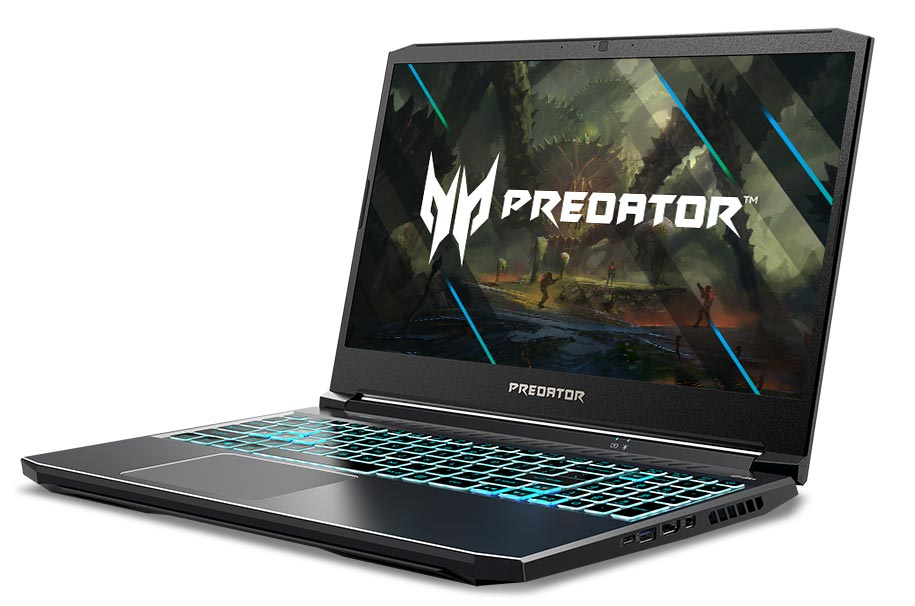 The Acer Predator Helios 300 gaming notebook