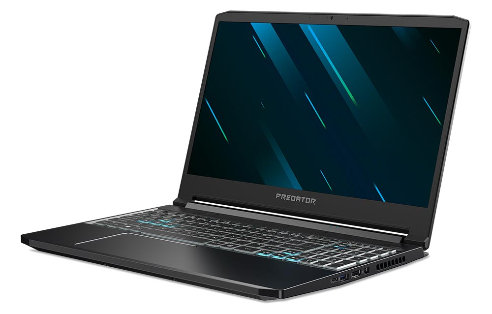 The Acer Predator Triton 300 gaming notebook