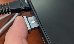 The Kensington VeriMark IT Fingerprint Key