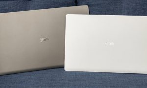 LG gram 14- and 15-inch laptops