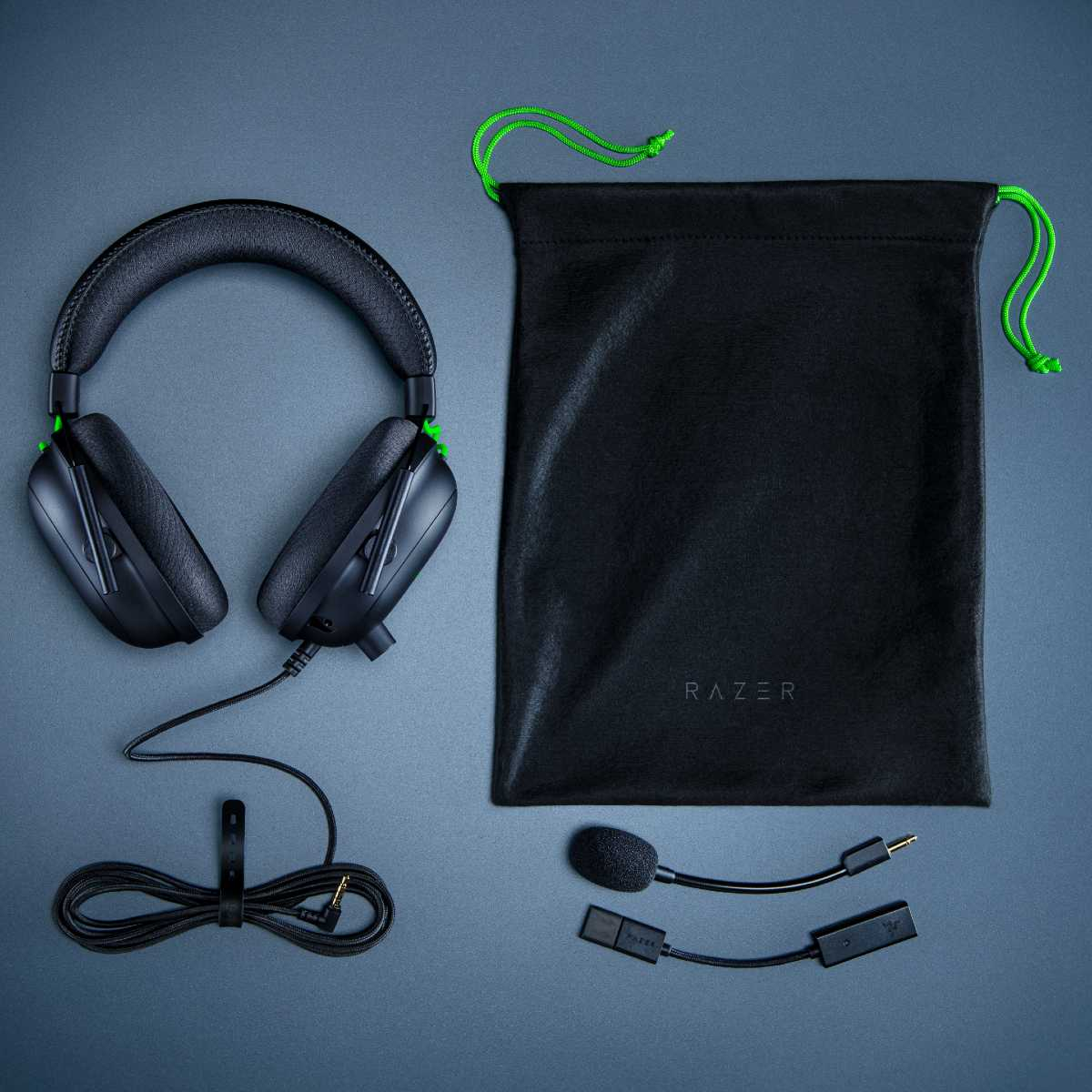 The Razer BlackShark V2 esports gaming headset