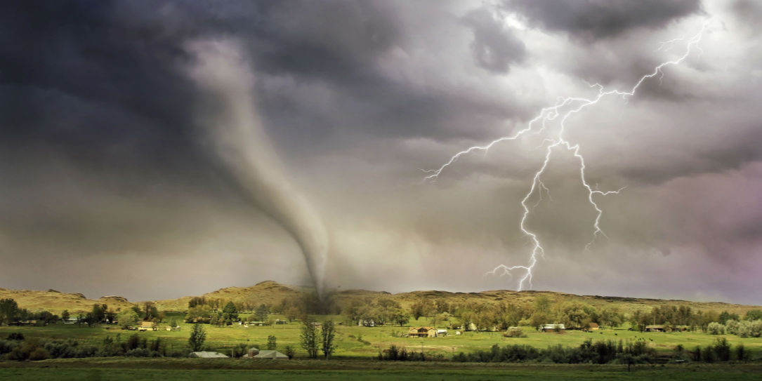 Extreme weather tornado