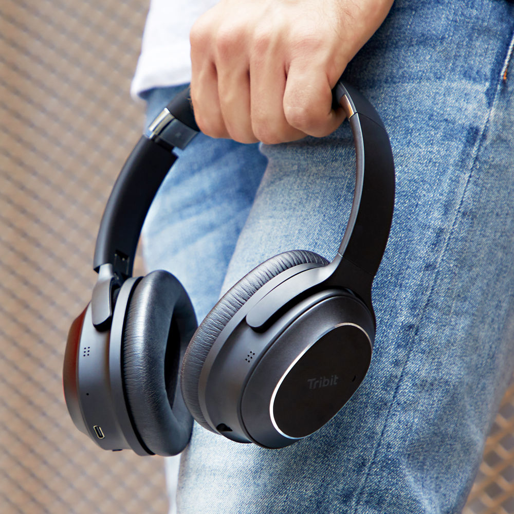 Tribit announces its QuietPlus 72 hybrid noise-cancelling headphones