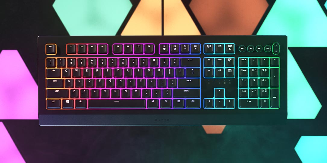 Razer Cynosa V2 entry-level gaming keyboard