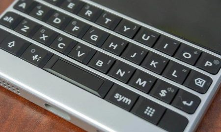 BlackBerry KEY2 physical keyboard