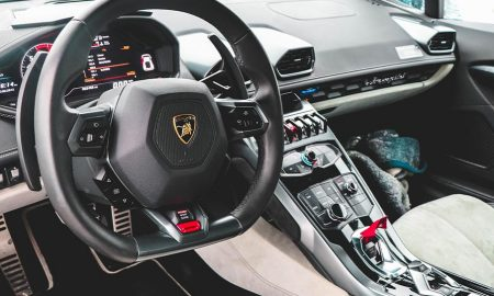fuzzing vehicle Lamborghini steering wheel