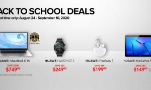 Huawei Canada Back to School sale