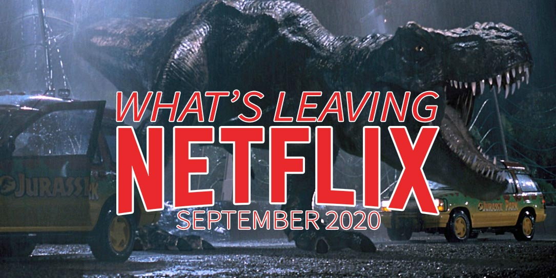 What'; leaving Netflix September 2020 Jurassic Park