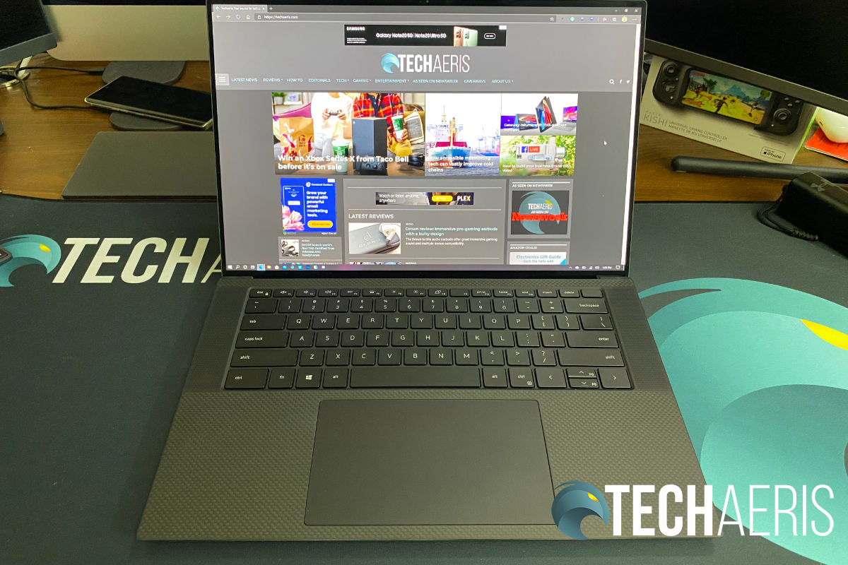 2020 Dell XPS 15 9500 laptop review