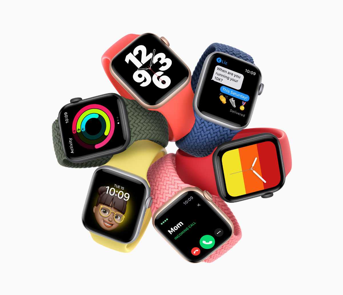 Apple Watch SE and Series 6 fruit tech Apple Event