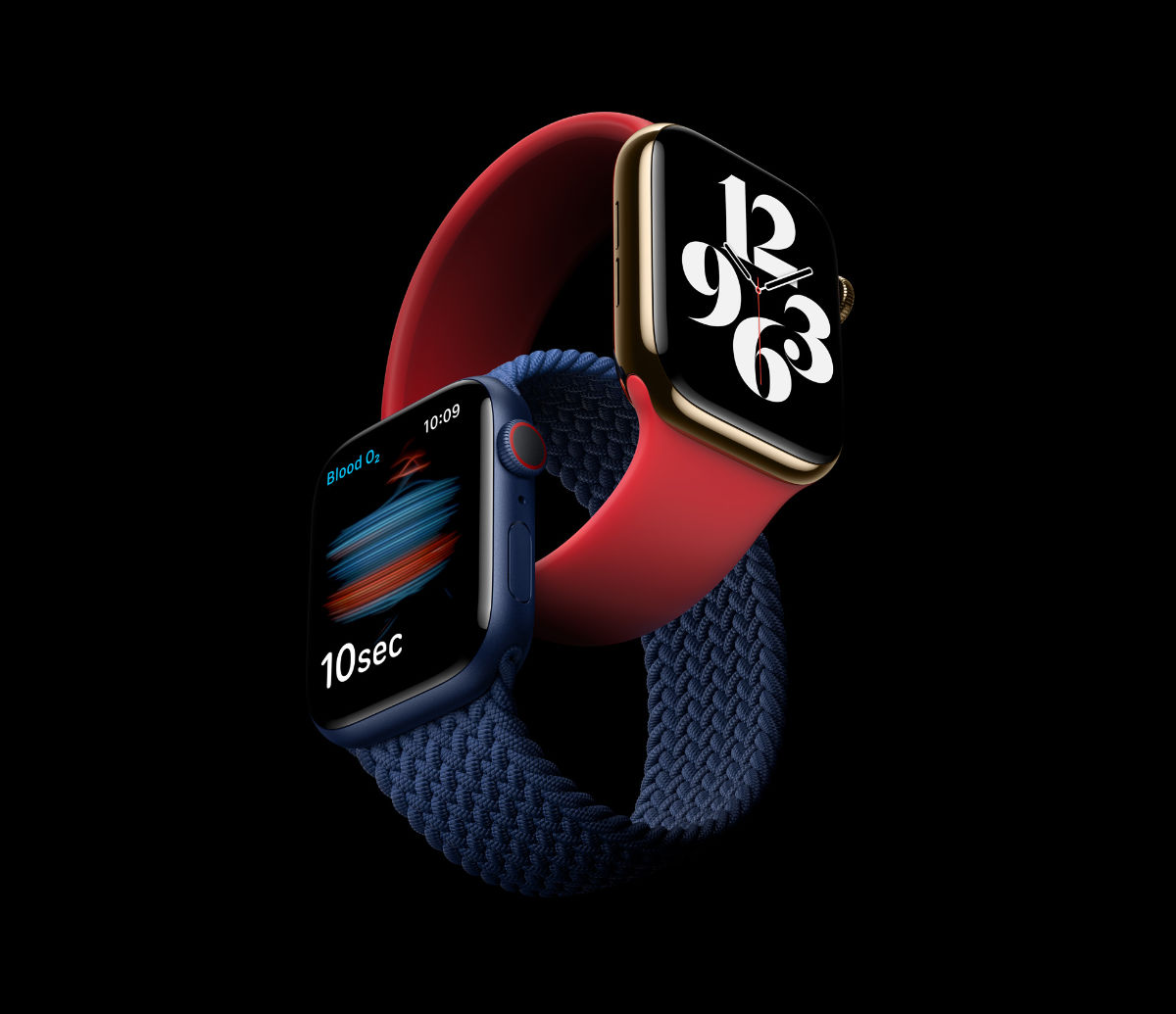Apple Watch Series 6 and Apple Watch SE