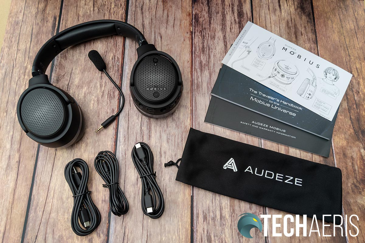 What's included with the Audeze Mobius headset