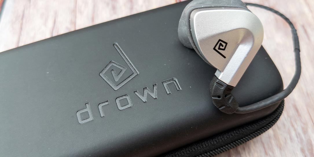 The Drown tactile audio pro-gaming earbuds
