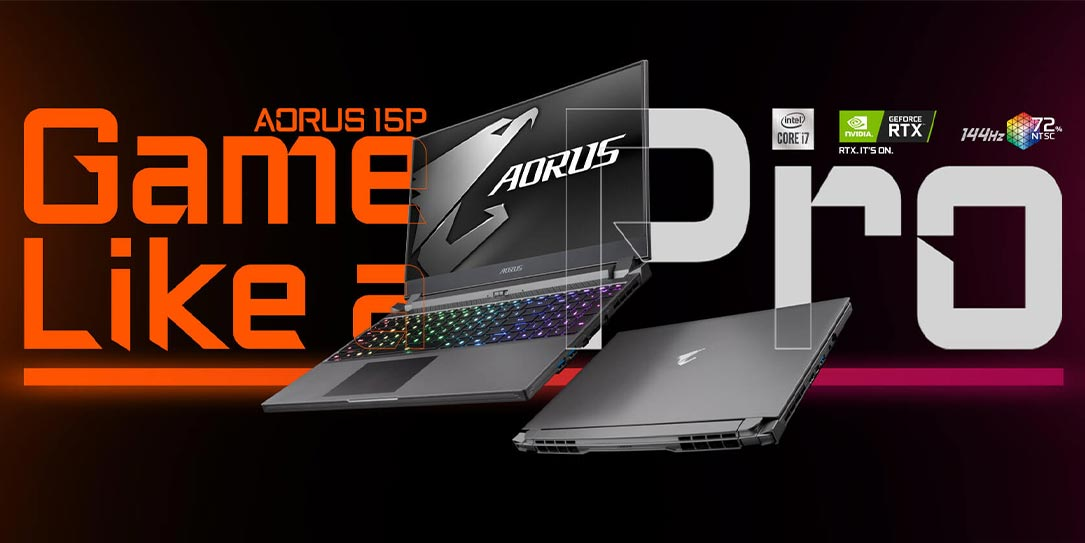 GIGABYTE AORUS 15P ultra-thin gaming laptop
