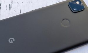 Google Pixel 4a Android smartphone