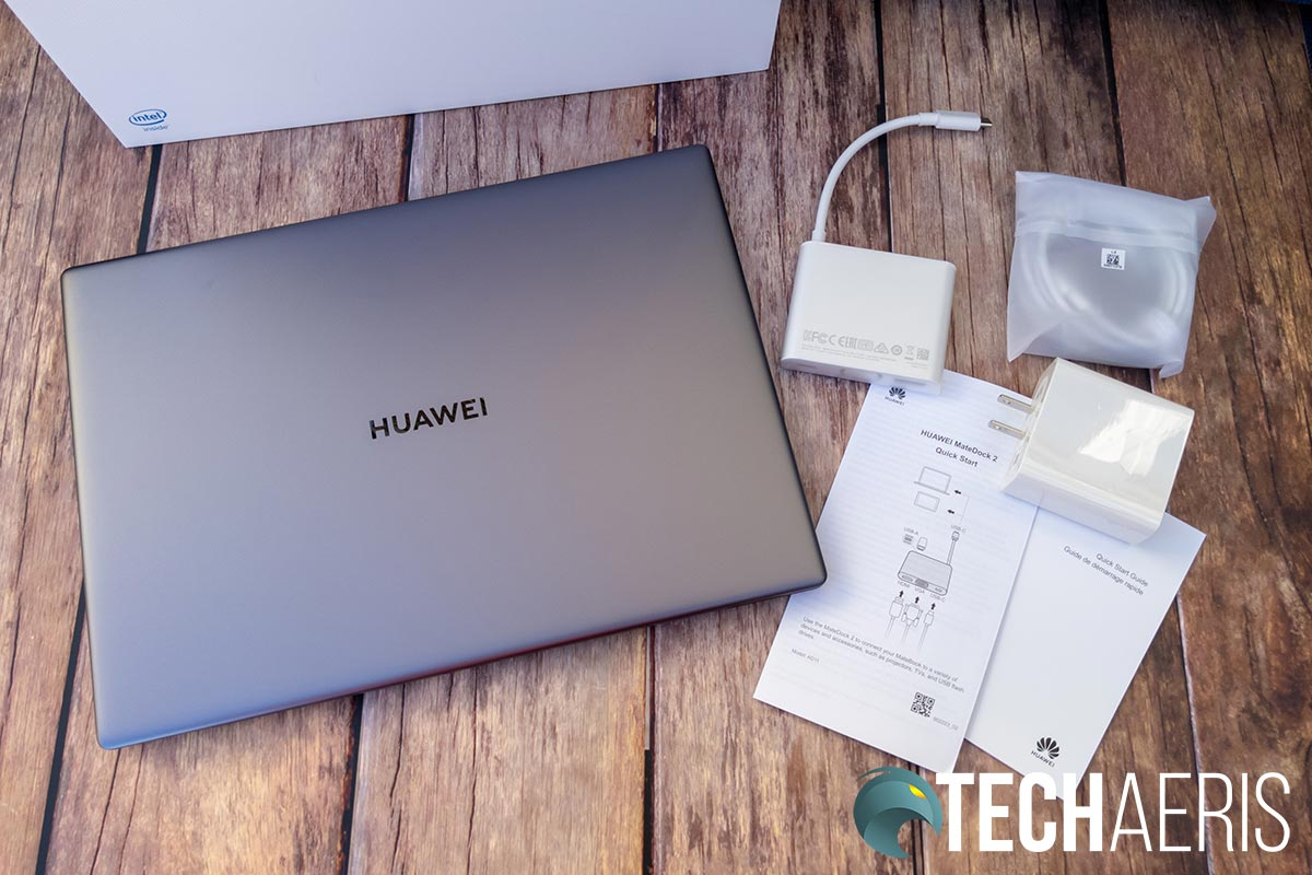 What's included with the Huawei MateBook X Pro laptop