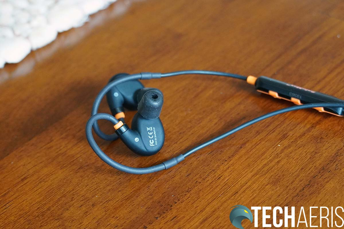 ISOtunes Pro 2 Back of Earbuds