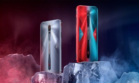 RedMagic 5S gaming phone on ice