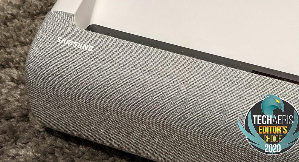 The Samsung Premiere LSP9T 4K laser projector