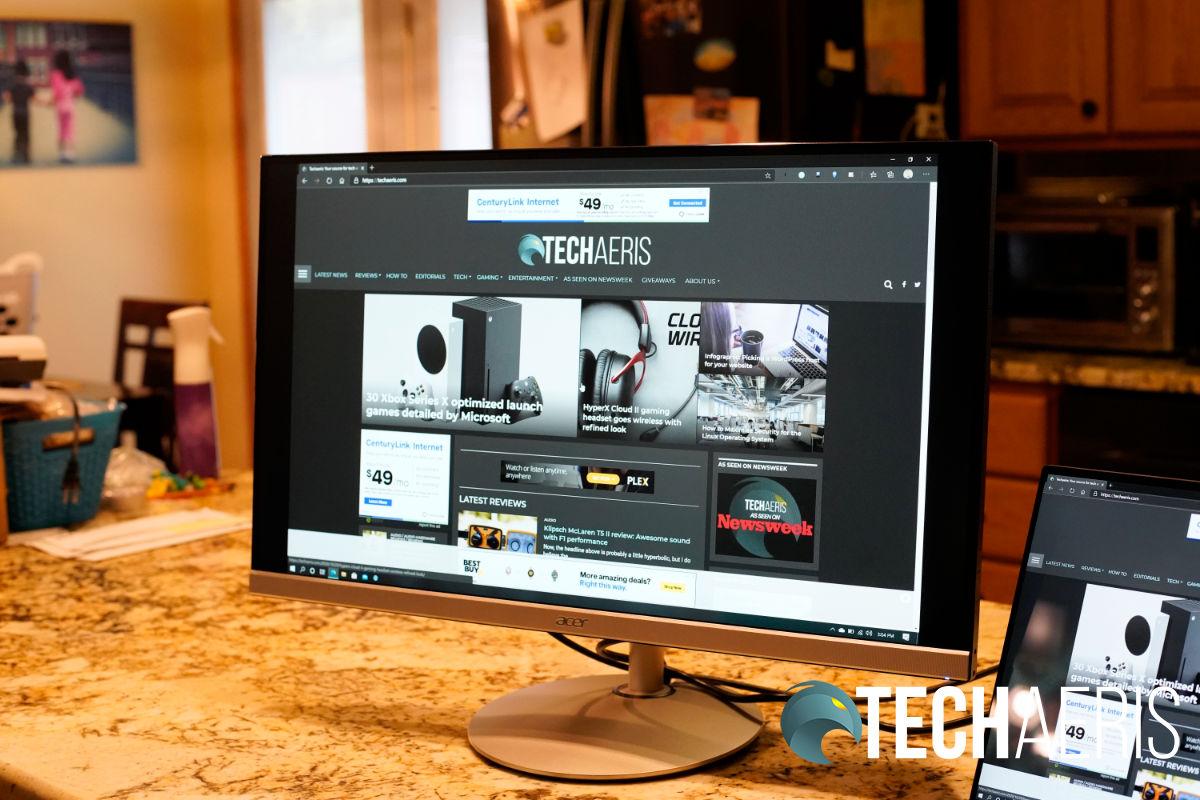 Acer CBL272U monitor