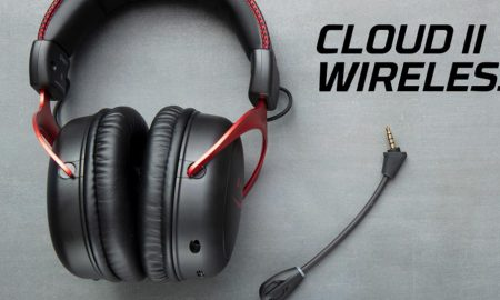 The HyperX Cloud II Wireless gaming headset