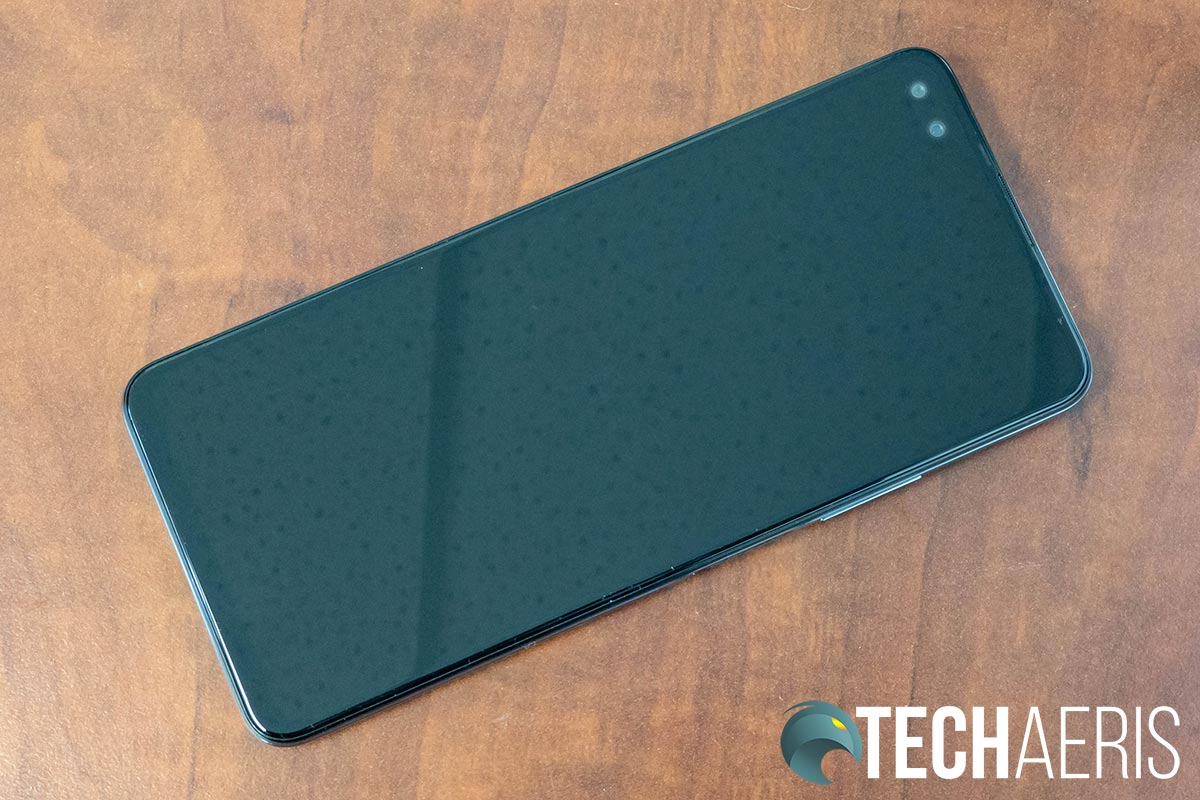 The back of the Infinix ZERO 8 Android smartphone
