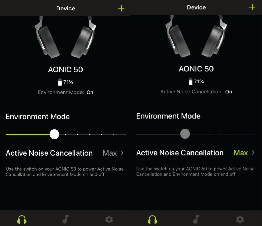 Shure AONIC 50 Noise-Cancelling