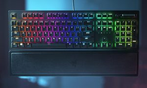 The Razer BlackWidow V3 mechanical gaming keyboard