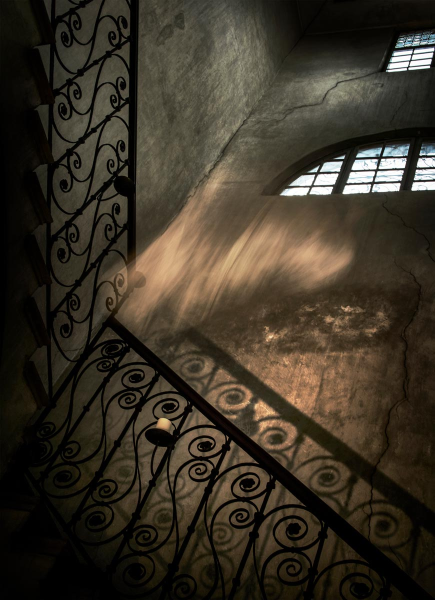 In the Staircase. Shot by Canon Ambassador Eberhard Schuy on the Canon EOS 5D MII using an EF 24-105mm lens (courtesy Canon)