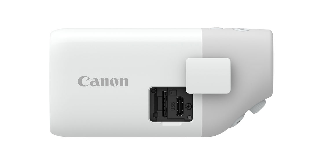 The Canon PowerShot ZOOM is one interesting looking camera