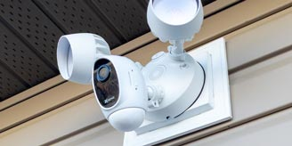 The EZVIZ LC1C Smart Security Light Camera