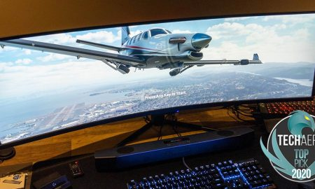 The Monoprice Dark Matter 40865 49-inch DQHD Curved Gaming Monitor