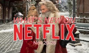 New on Netflix November 20 Kurt Russell Goldie Hawn Christmas Chronicles
