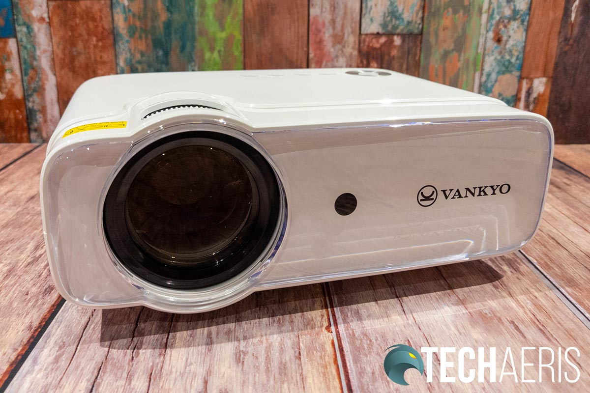 The front of the Vankyo Leisure 430 projector