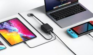 HYPER HyperDrive 60W USB-C Power Hub for Nintendo Switch