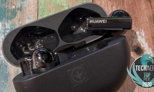 Huawei FreeBuds Pro earbuds with Intelligent Dynamic ANC
